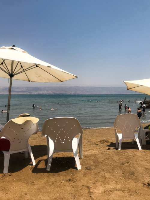 Kalia Beach on the Dead Sea
