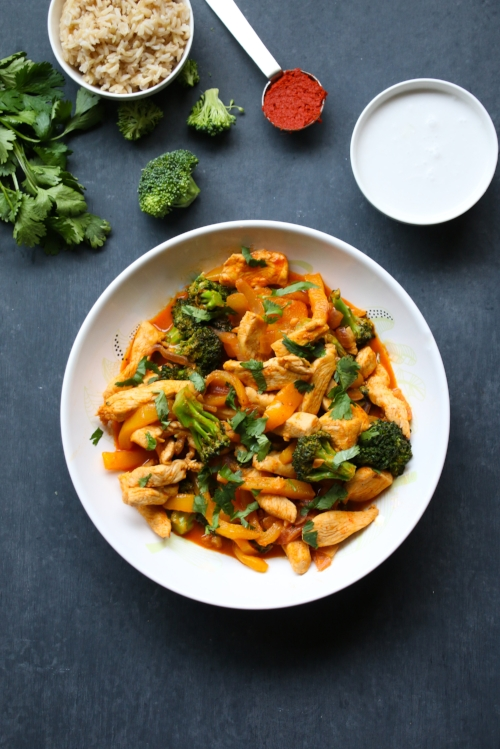 20-Minute Thai Chicken Curry: Fast, fresh and full of flavor (and veggies)!