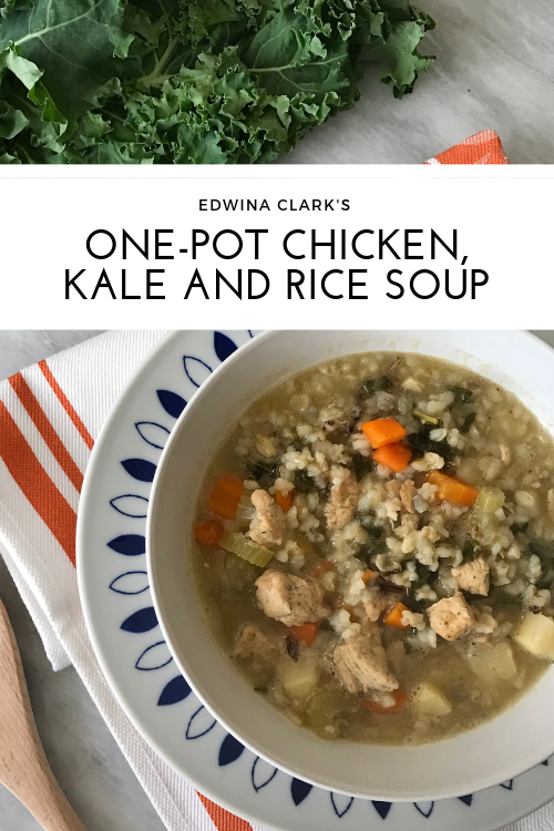 Gluten-free, one-pot chicken and rice soup: An easy and nourishing meal!