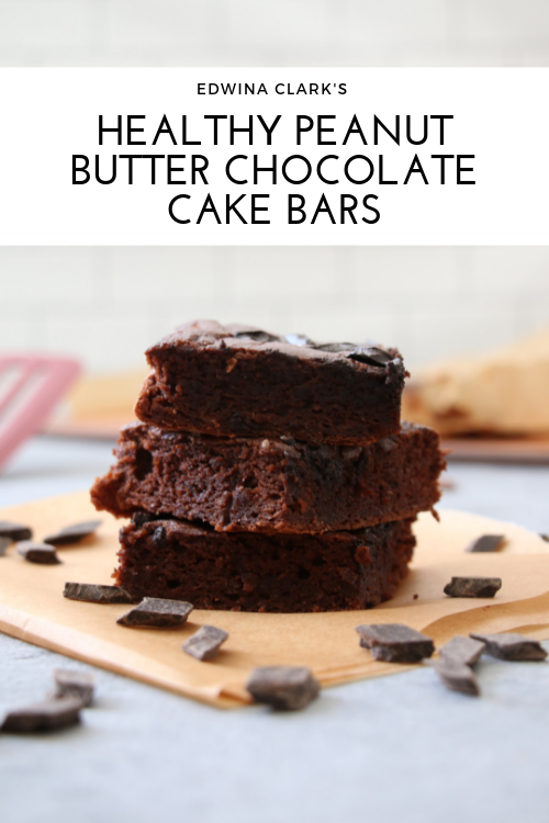 Flourless chocolate-peanut butter bars: Easy, high protein and full of fiber!