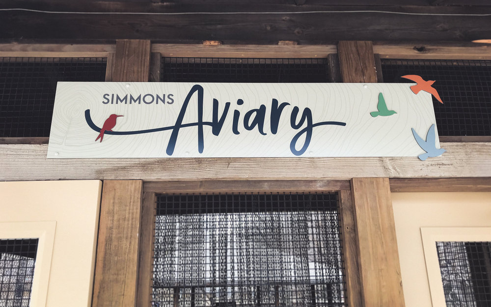 OHDZA's Aviary Exhibit