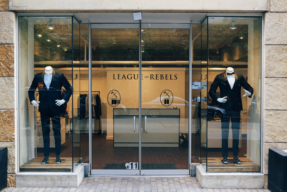 BRAND STORY / LEAGUE OF REBELS League of Rebels is doing everything right. They recently opened up a shop in Austin's upscale 2nd street district and are keeping the spirit of localism alive in today's culture of fast and cheap.