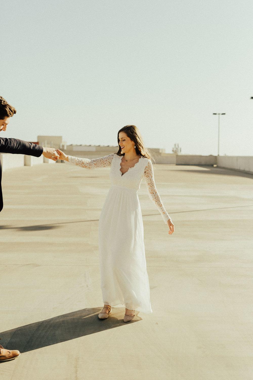Morgan + Christian | Engagements | Austin, TX skyline & Emma Long Metropolitan Park-13