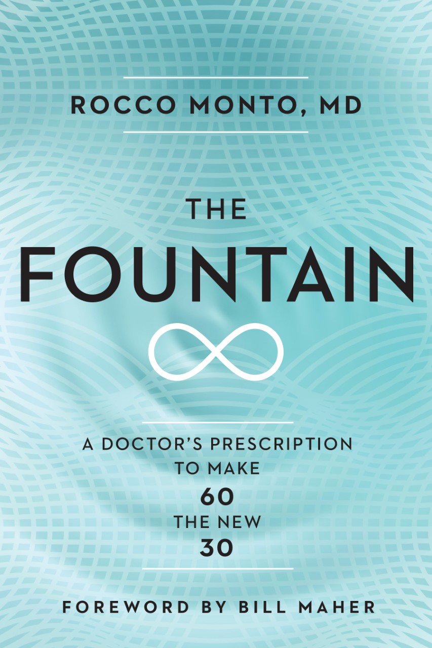 Live long and prosper, baby. - The Fountain contains the latest latest scientific evidence on diet, exercise, inflammation, and aging from around the world.AVAILABLE ON AUDIBLEGet your copy at Amazon, Barnes & Noble, Indie Bound, Nantucket Bookworks, Mitchell's Book Corner, Dan's Pharmacy, Target, Walmart, Books-A-Million, iBooks, McNally & Jackson, and Indigo!