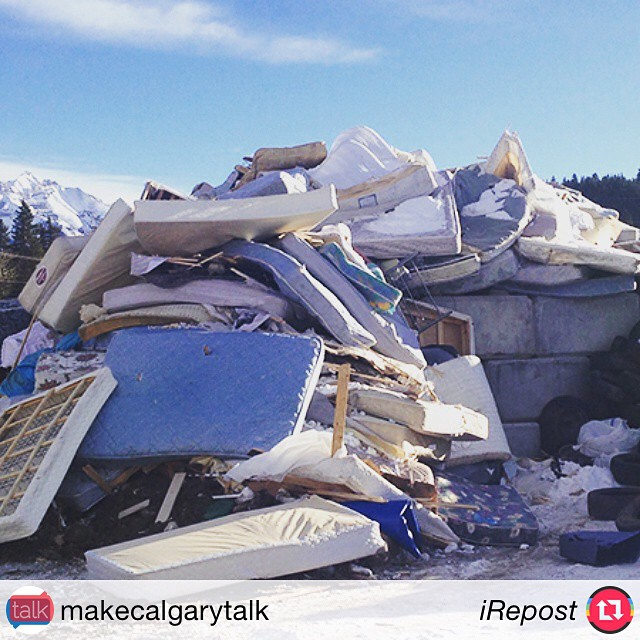 "#iRepost @makecalgarytalk with @irepostapp: ""Re-Matt: giving mattresses a second chance, check out the blog @rematt_inc #mct #recycleyyc #yyc"" #Repost #RT"