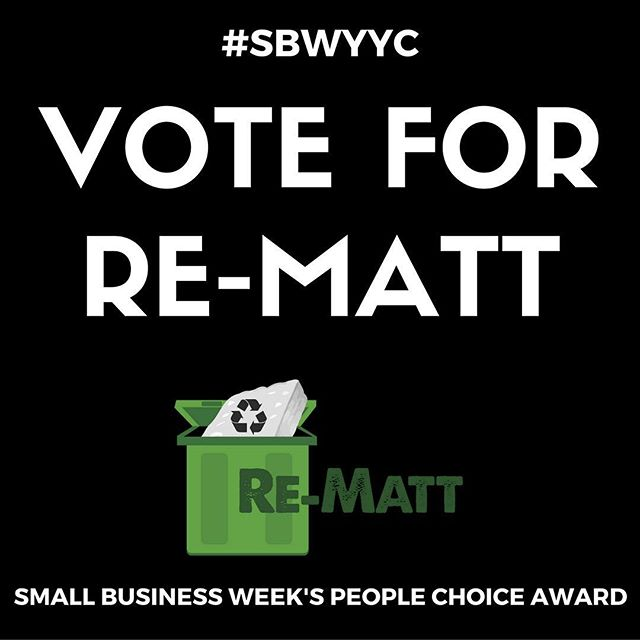 We are so pumped to be nominated for @calgarychamber Small Business Week's People's Choice Award!! Please help support our business of Mattress Recycling by voting!! It takes 0.7383 seconds! Link in bio: http://calgarychamber.cmail19.com/t/j-l-kdotkl-ztljifhd-j/ Thank you guys!! #sbwyyc