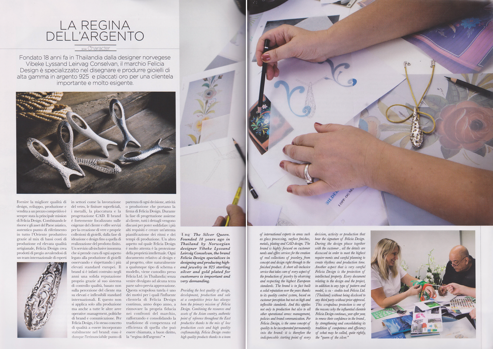 VIORO Magazine (Winter). Italian. Editorial: Vibeke and Felicia Design.