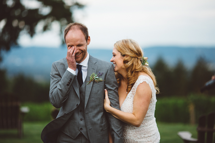 Shara + Cristian     Oregon Vineyard Wedding    Dayton, OR