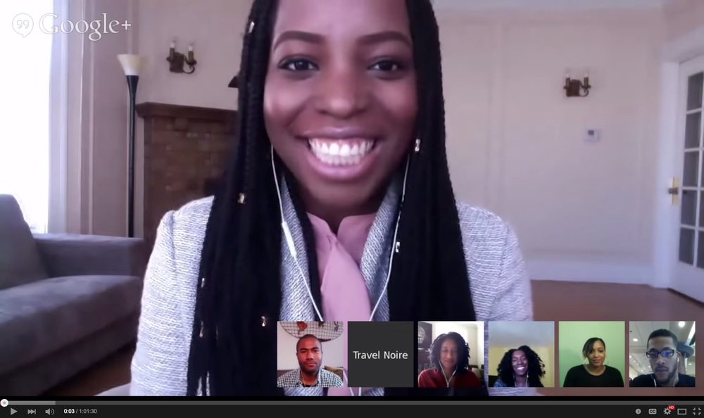 One of Zim's early video hangout sessions providing tips and perspectives on traveling abroad.