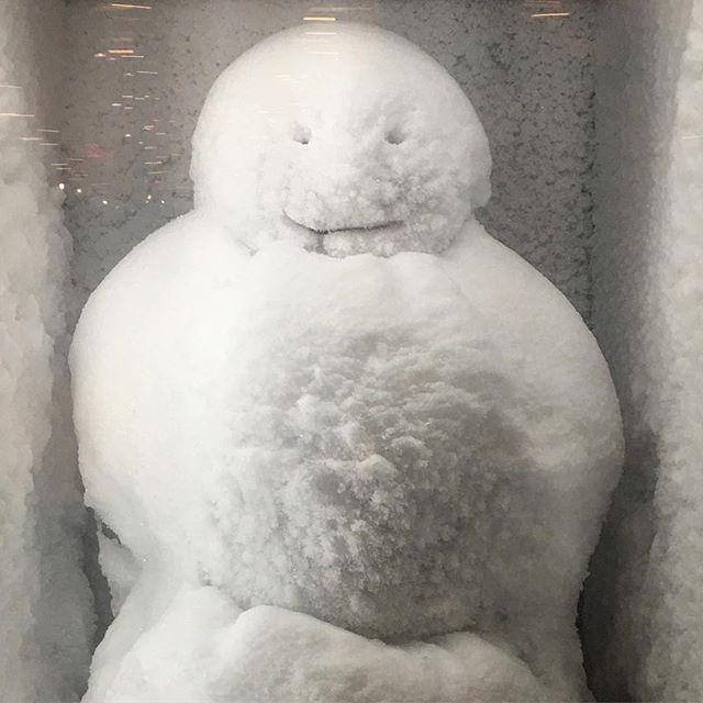 ☃️ #snowman #sanfrancisco #sfmoma