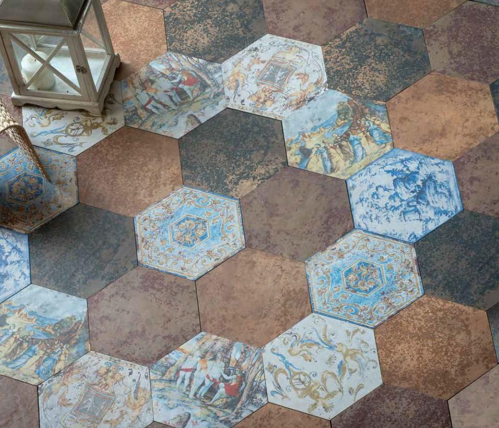 Eco ceramic tiles