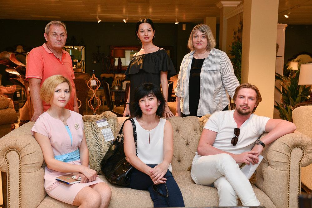 Ланч с дизайнерами в дизайн-центре WEST 2 июня 2017