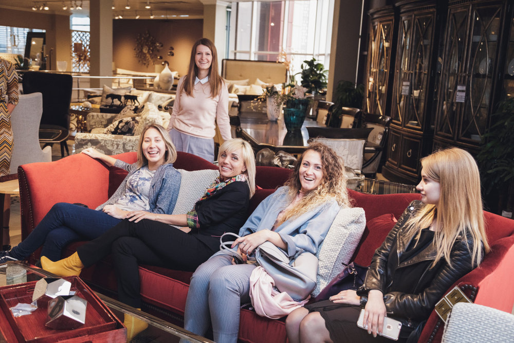 Ланч с дизайнерами в AP Luxury Brands 5 октября 2017