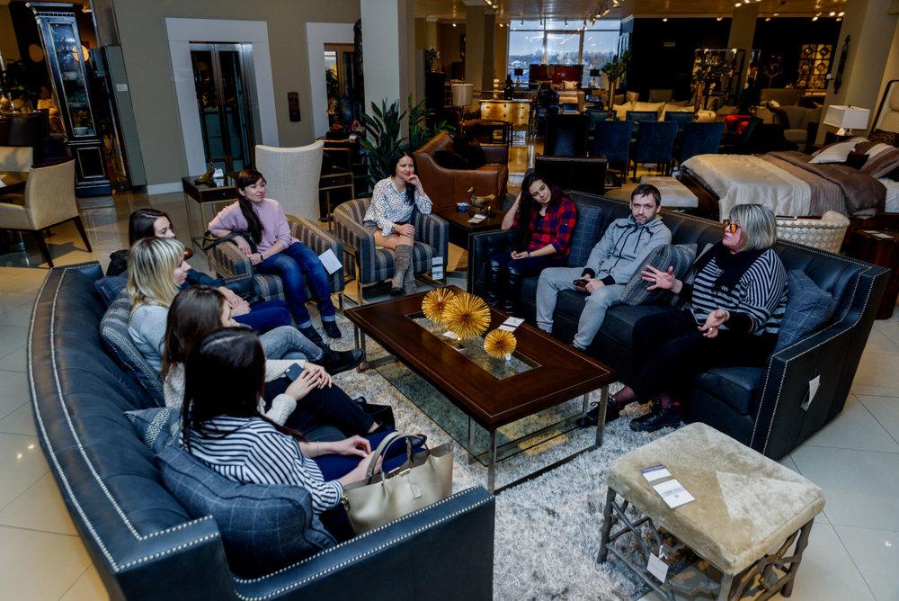 Ланч с дизайнерами в дизайн-центре WEST, 18 января 2018