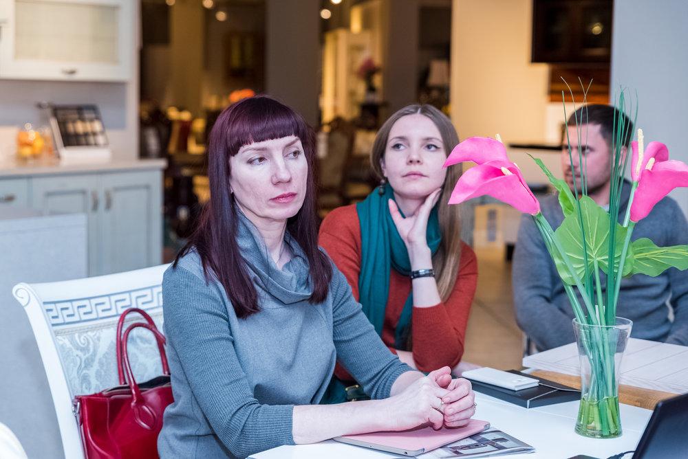 Ланч с дизайнерами в AP home, 26 января 2018