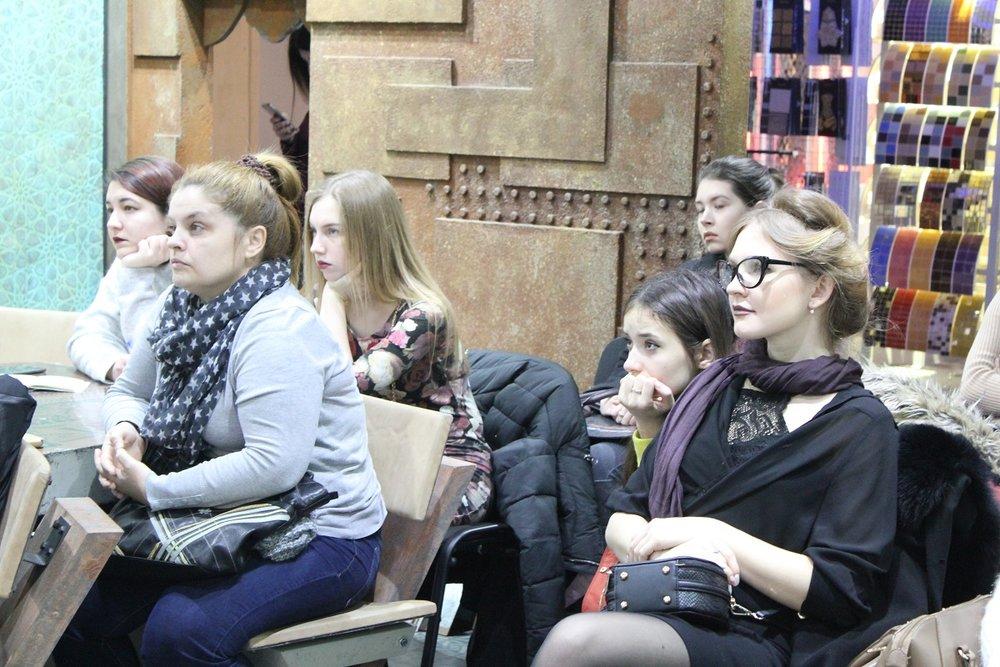 Открытый урок для студентов в шоу-руме Краски Бриз, 15 февраля 2018