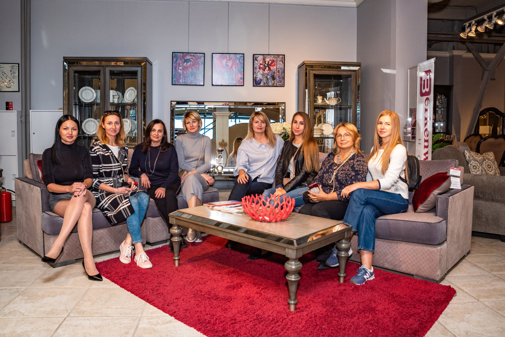 Ланч с дизайнерами в AP home, 5 октября 2018