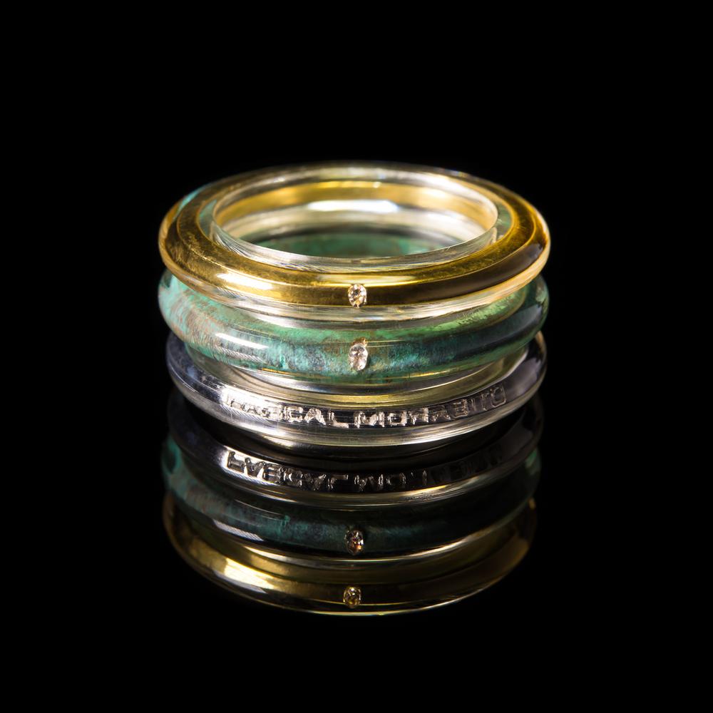 Pascal Morabito triad ring gold bronze silver.jpg