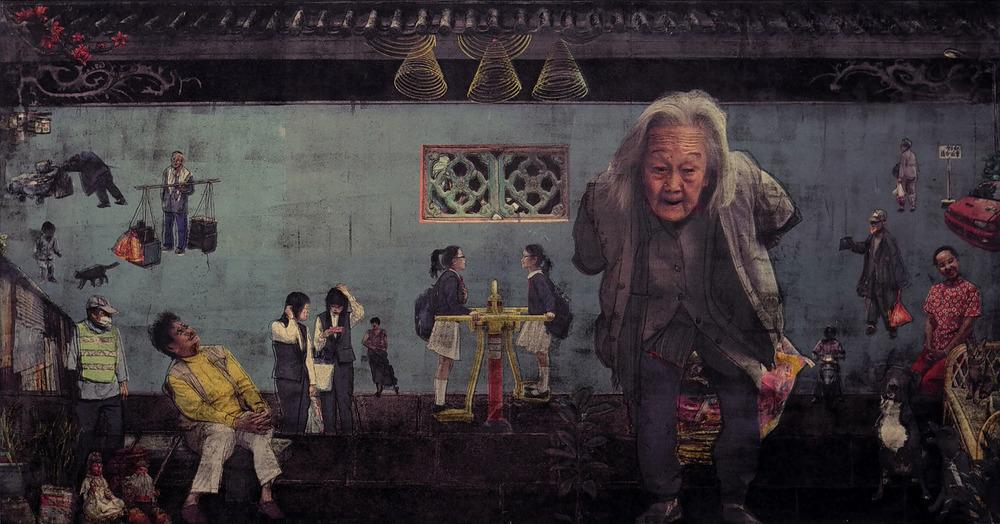 澳門人 /Macau People               100cmx 76.5cm