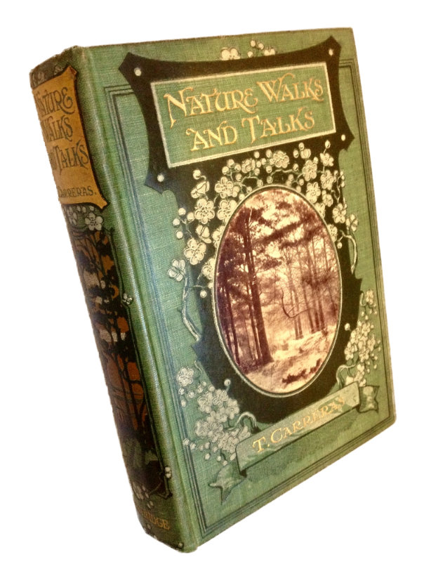 One of the books we are using as reference: Nature Walks and Talks, available at all secret old bookshops.