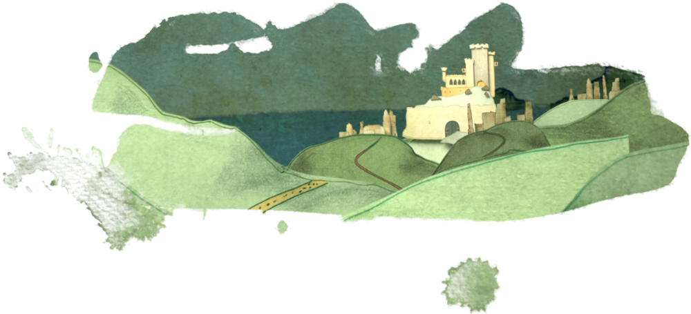 Galdovia and the castle for ebook