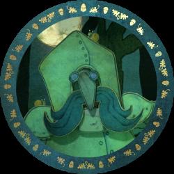 Sir Strompoff in a frame