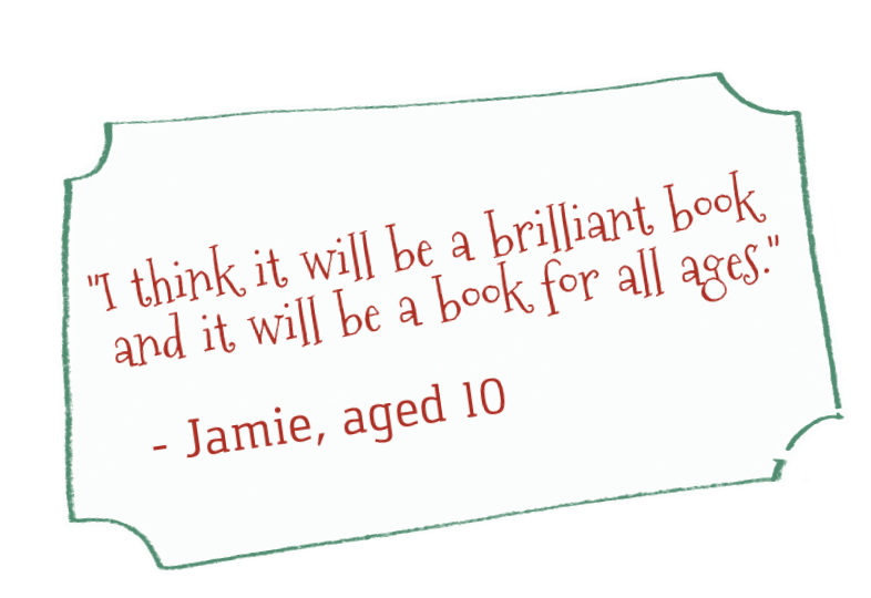 Jamie quote - I think it will be a brilliant book ...