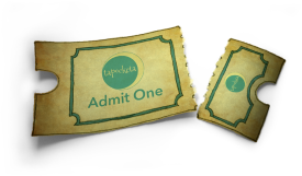ripped theatre ticket