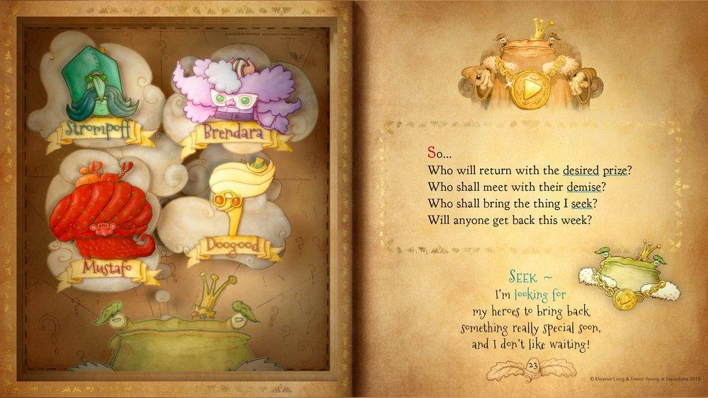 enhanced ebooks - Galdo's Gift: The Boovie
