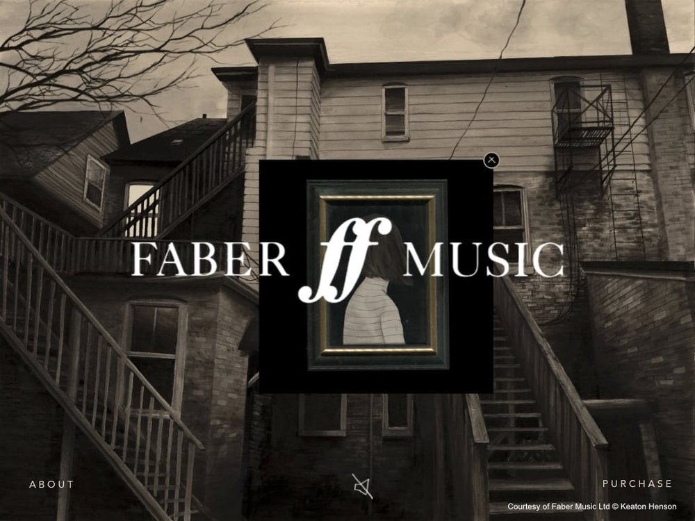 Welcome to Tallowmere - client: Faber Music Ltd