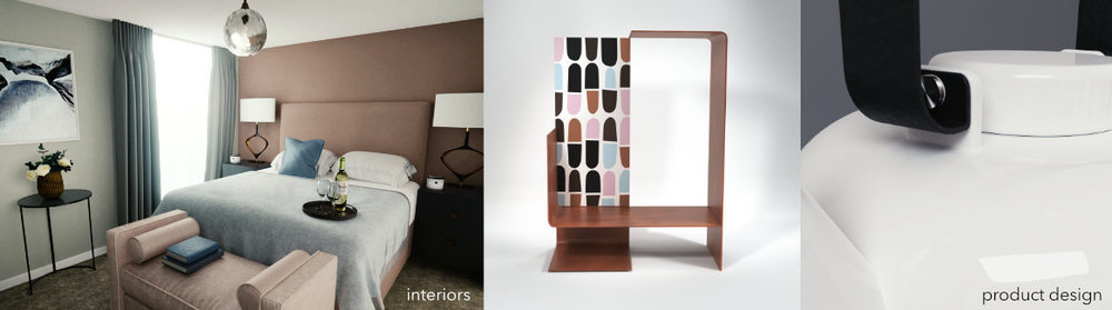 3D Visualization for Interior Design and Product Design