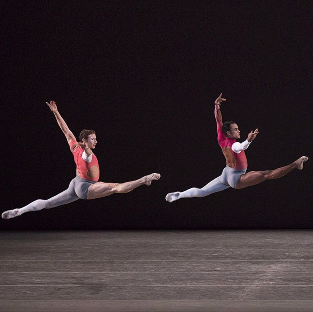 David Prottas and Taylor Stanley in Justin Peck's New Blood