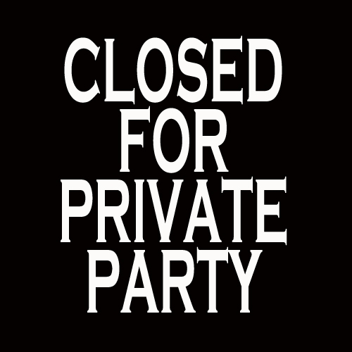 Closed for Private Party Organization New York City.jpg