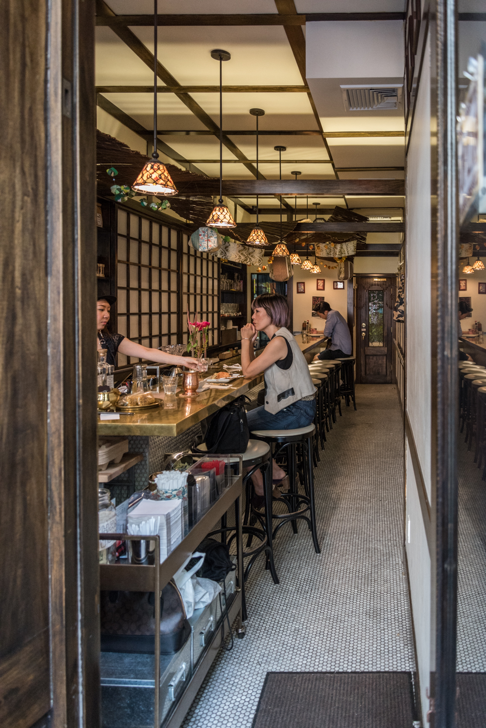 Hi Collar Coffee Bar Japanese East Village New York City Photo Credit rockmamanyc1.jpg