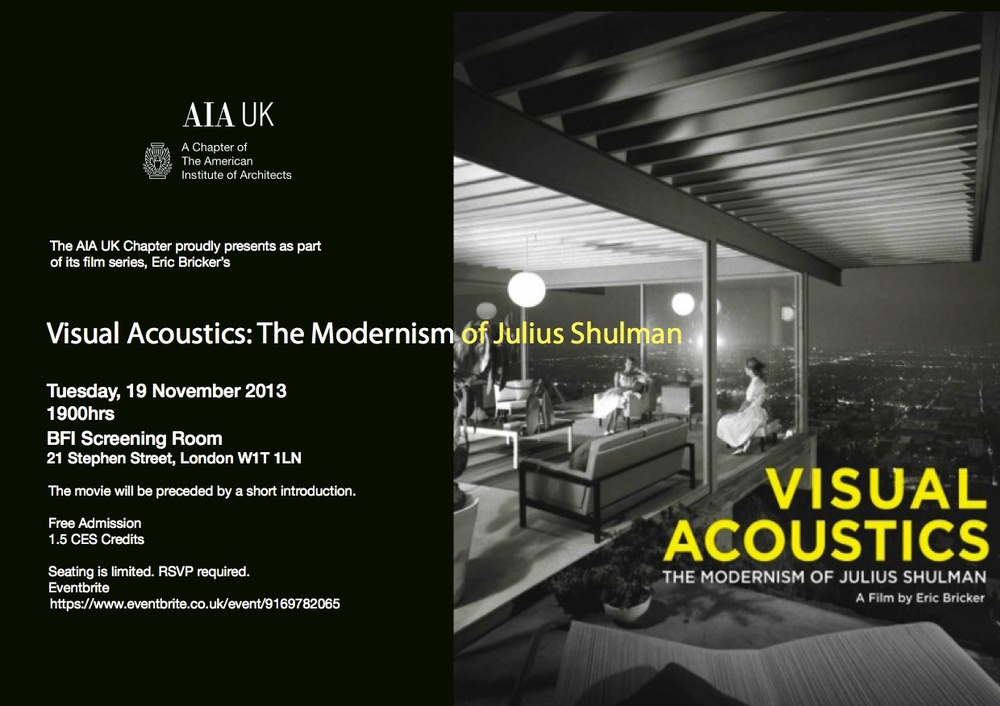 Visual Acoustics Film Night