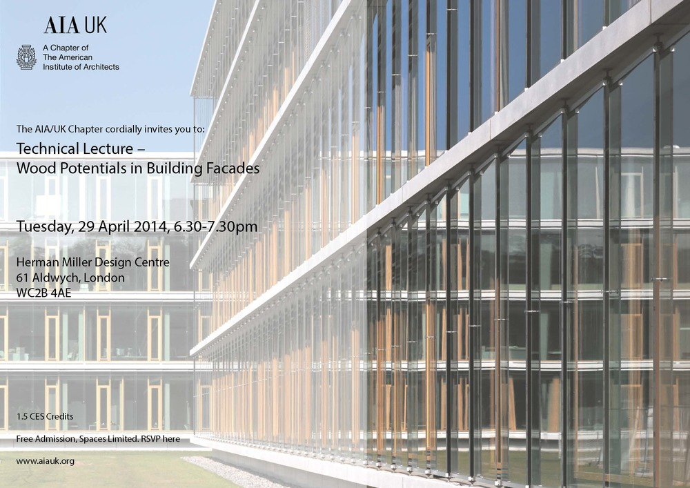 Wood Facades Lecture