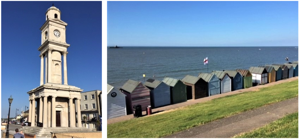 Herne Bay Architecture in all Types and Sizes.     Photo Credit: C Musangi; J Sturt