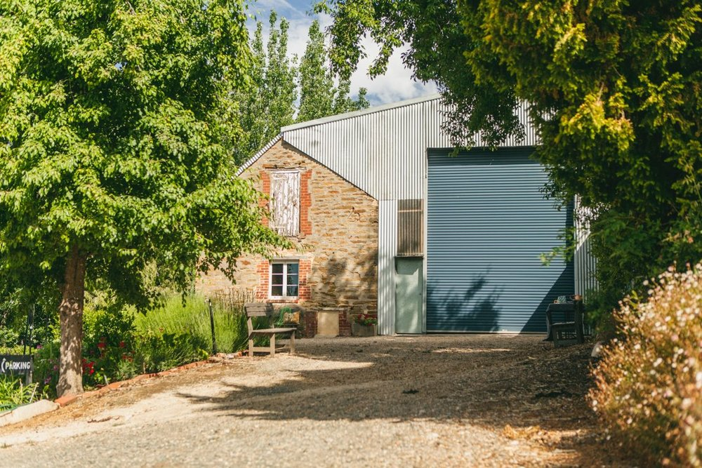 Our cellar door. Photo Jennifer Sando.