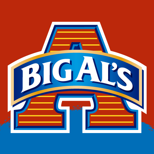Brand and packaging design projects for Big Al's