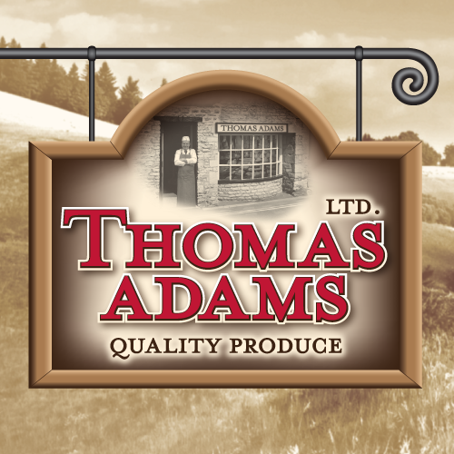 Brand identity and packaging design projects for Thomas Adams