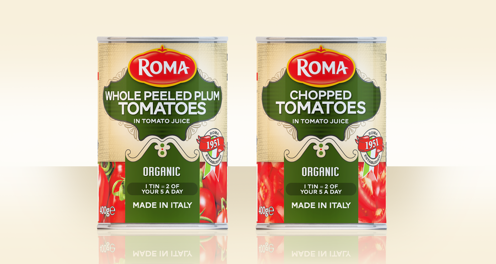 Roma Whole Peeled Tomatoes