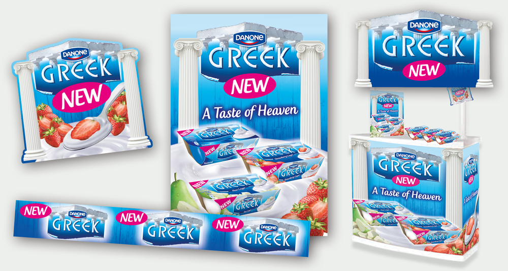 Danone Greek POS