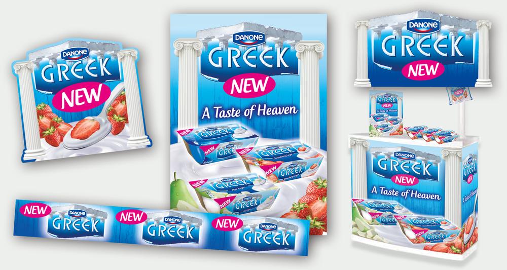 Danone Greek POS