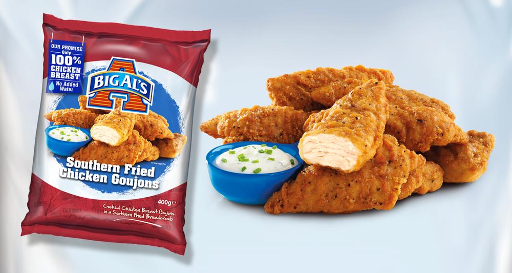 Big Al's Southern Fried Chicken Goujons