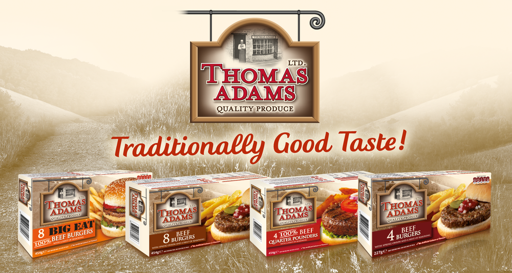 Thomas Adams Burgers
