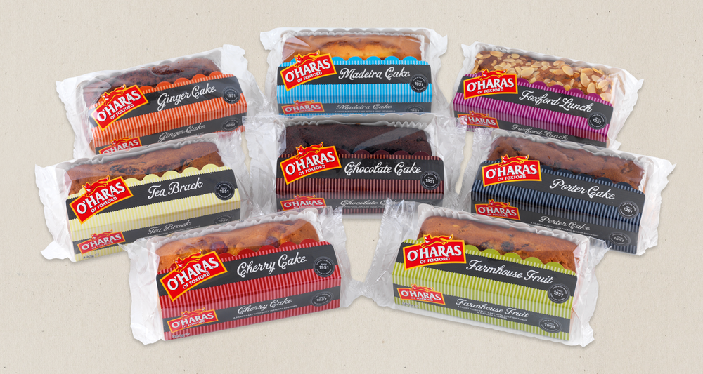 O'Haras of Foxford Cake Range