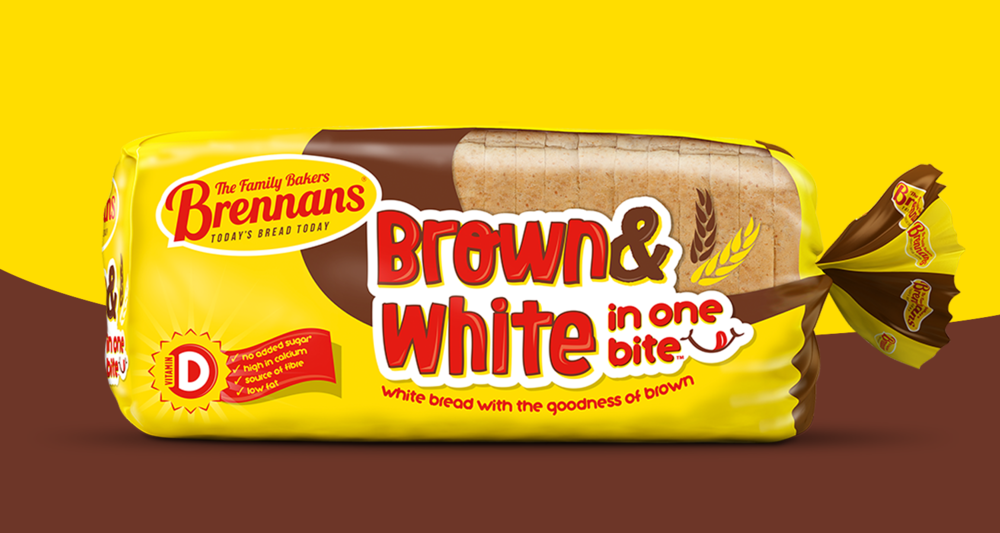 Brennans Brown & White