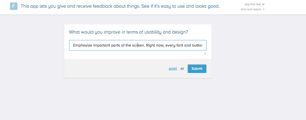 Ask your users open-ended usability questions.