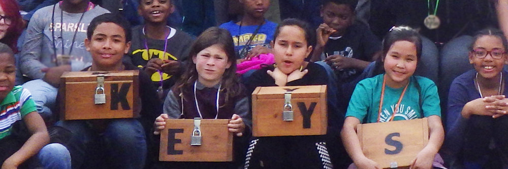 This will be a newer, clearer picture of children holding the key boxes.