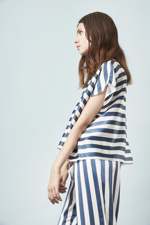 Violet & Wren Vita Collection Vita Stripe Tee and Pyjama Pant